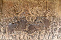 Fresques à Angkor Wat